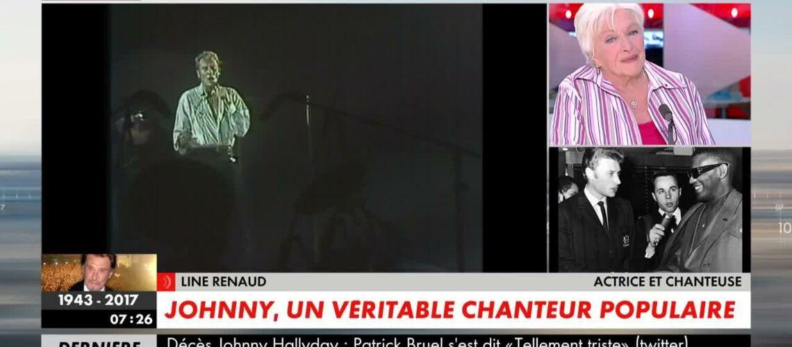 VIDEO – «Toute la France va pleurer Johnny Hallyday»: Line Renaud favorable à un hommage national