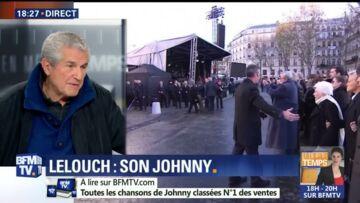 VIDEO – Claude Lelouch suscite l'indignation en filmant l'émotion des amis de Johnny Hallyday avec son smartphone, il s'explique