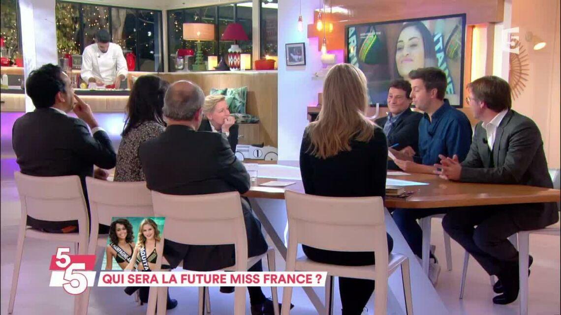 VIDEO – Quand Anne-Elisabeth Lemoine se trompe en direct au test de culture générale du concours Miss France