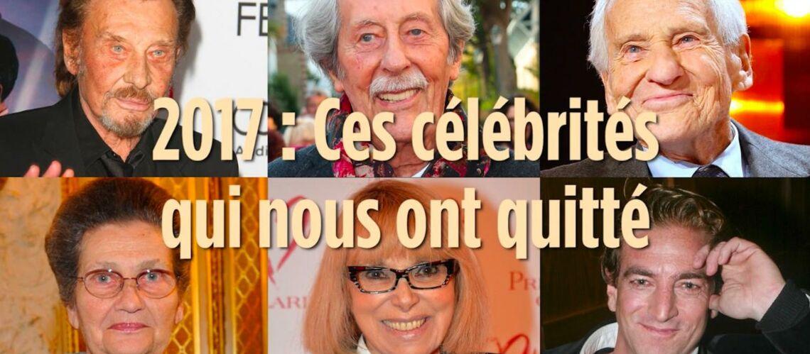 VIDEO –Johnny Hallyday, Jeanne Moreau, Mireille Darc: Ces célébrités qui nous ont quittés en 2017