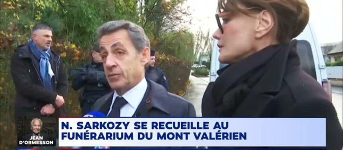 VIDEO – Nicolas Sarkozy se souvient de Johnny Hallyday le jour de son mariage avec Laeticia