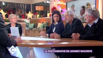 VIDEO – Le photo­graphe de Johnny Hally­day raconte l'adop­tion de Jade : « Il était sous le coup de l'émotion »