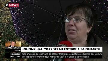 VIDEO – Johnny Hallyday inhumé à St Barth, déjà la polémique