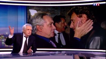 VIDEO – Malgré leur brouille, Michel Sardou raconte son meilleur souve­nir avec Johnny Hally­day