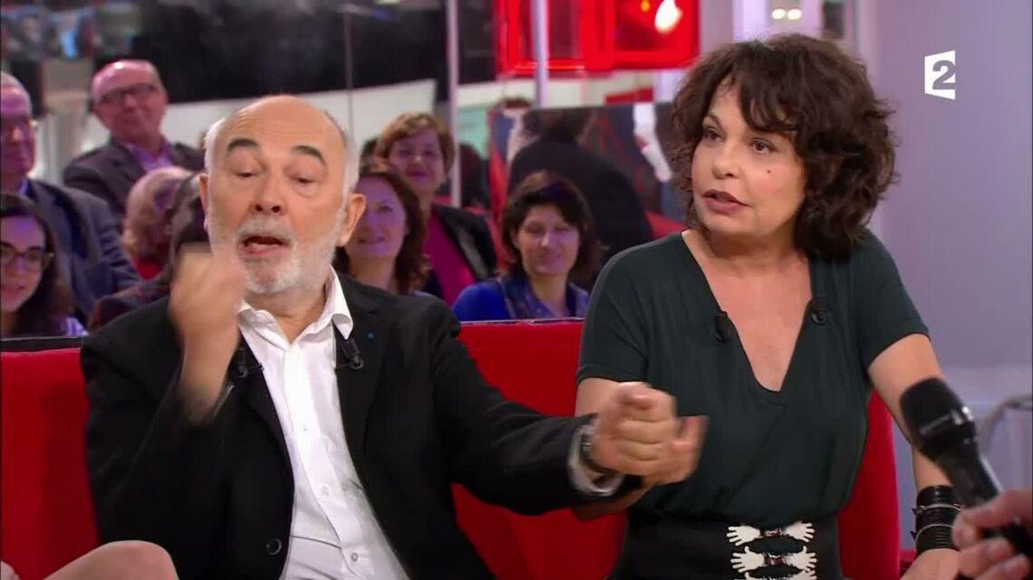 VIDEO – Le fou rire de Michèle Laroque, la compagne de François Baroin, après une vanne sur Anne Hidalgo