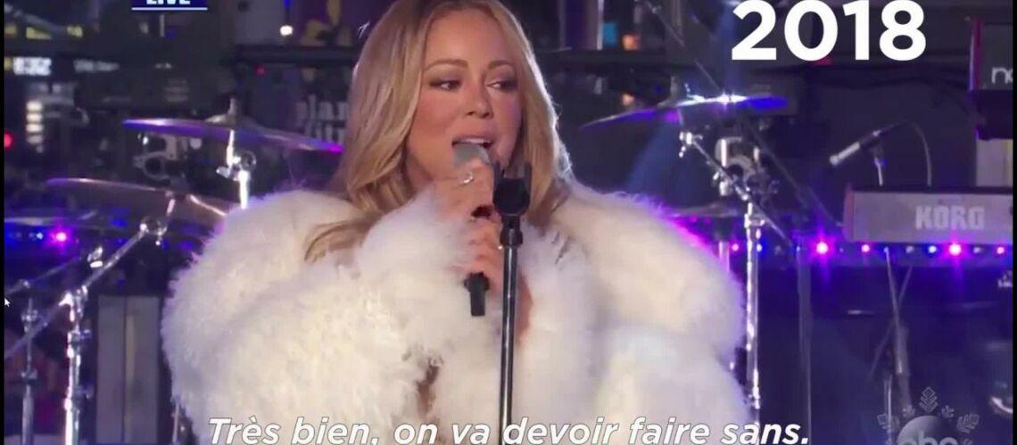 VIDEO – Le caprice de la diva Mariah Carey pour le Nouvel An amuse la toile
