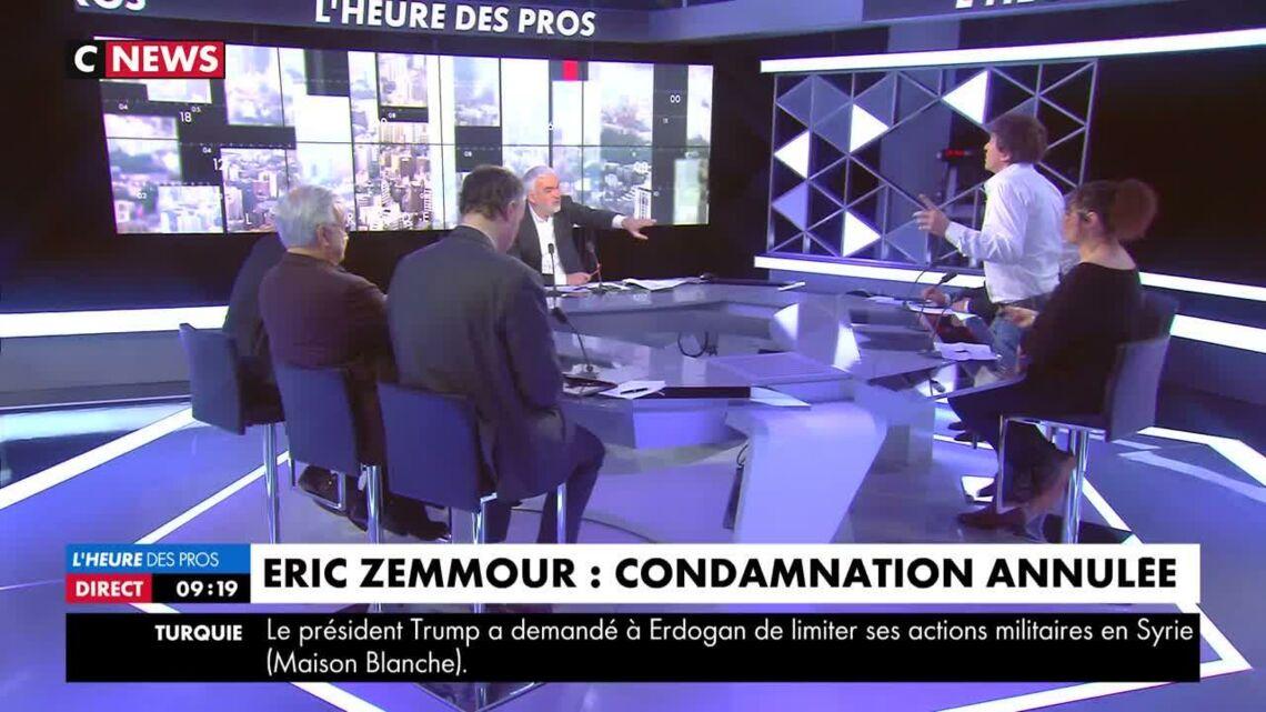 VIDEO – Cali quitte brutalement le plateau de CNews à cause d'Eric Zemmour