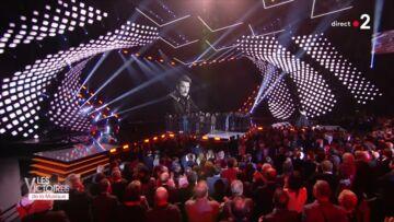 VIDÉO – Sébastien Farran, le manager de Johnny Hallyday fond en larmes aux Victoires de la musique