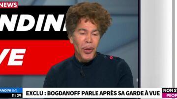 VIDEO – Igor Bogdanoff nie être entré de force chez son ex et charge son nouveau compagnon