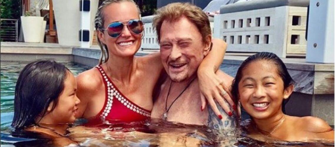Johnny Hallyday: ses derniers moments de bonheur, pour l'anniversaire de Jade