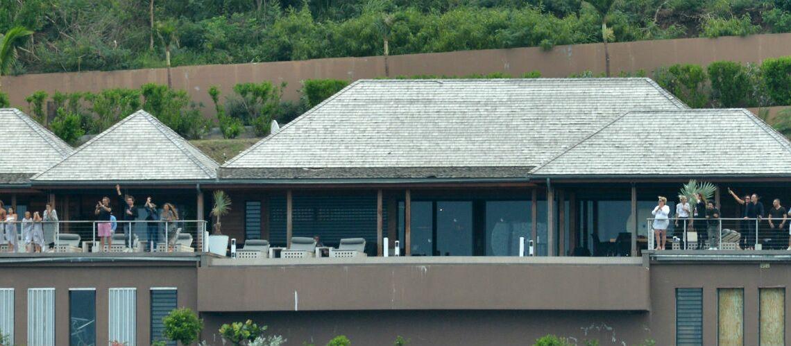 La villa Jade: après l'ouragan Irma, la famille de Johnny Hallyday a pu se réinstaller dans sa villa