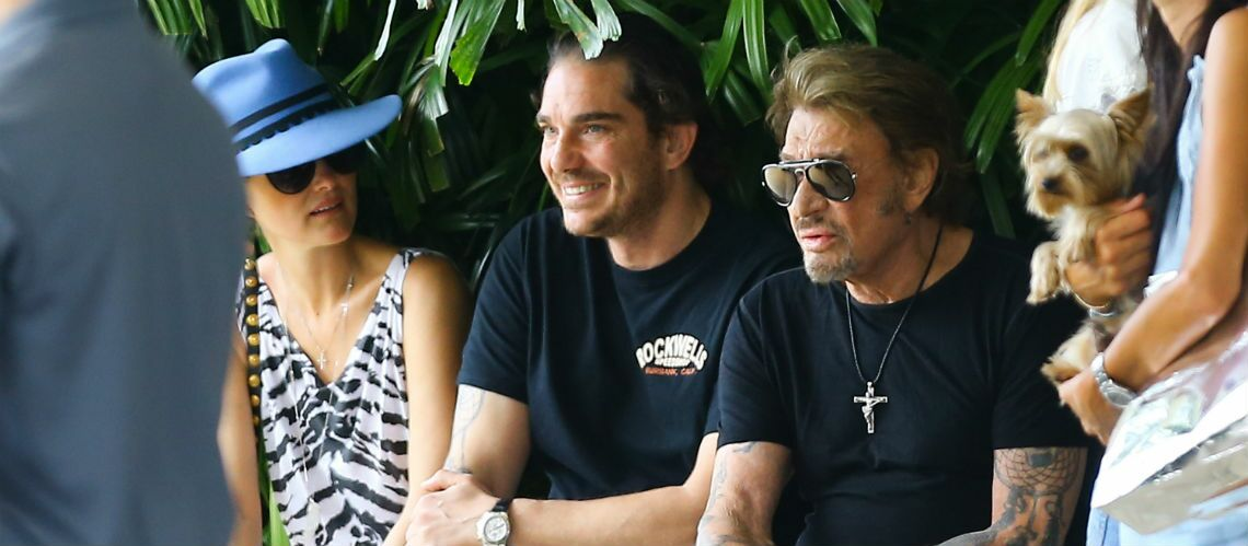 """La compagne de Sébastien Farran, manager de Johnny Hallyday: travailler avec l'idole, c'est """"le rêve d'une vie"""""""