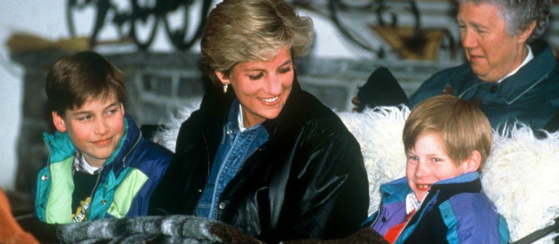 Le dernier hommage des princes William et Harry pour leur mère Lady Diana