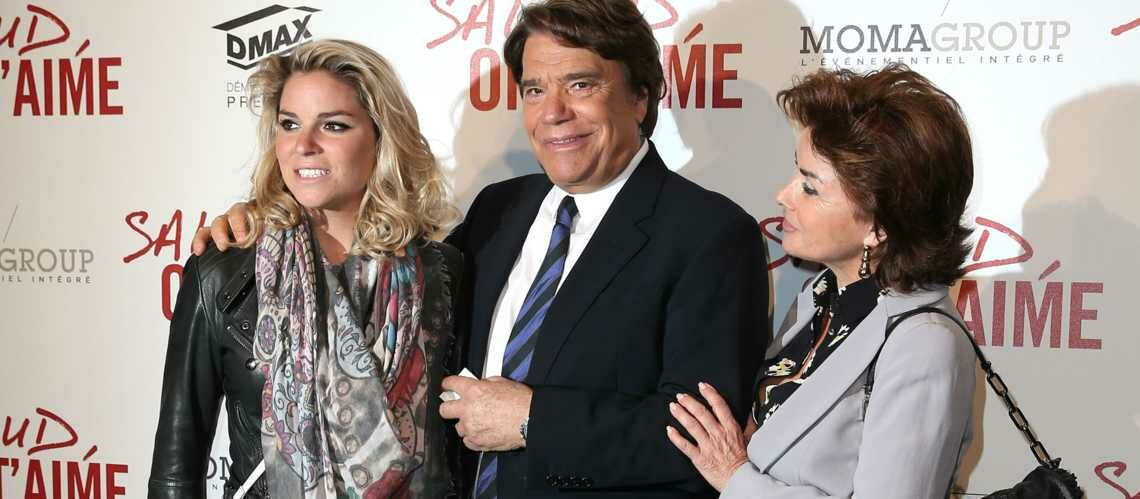 PHOTO – Bernard Tapie atteint d'un cancer, le boule­ver­sant message de sa fille Sophie