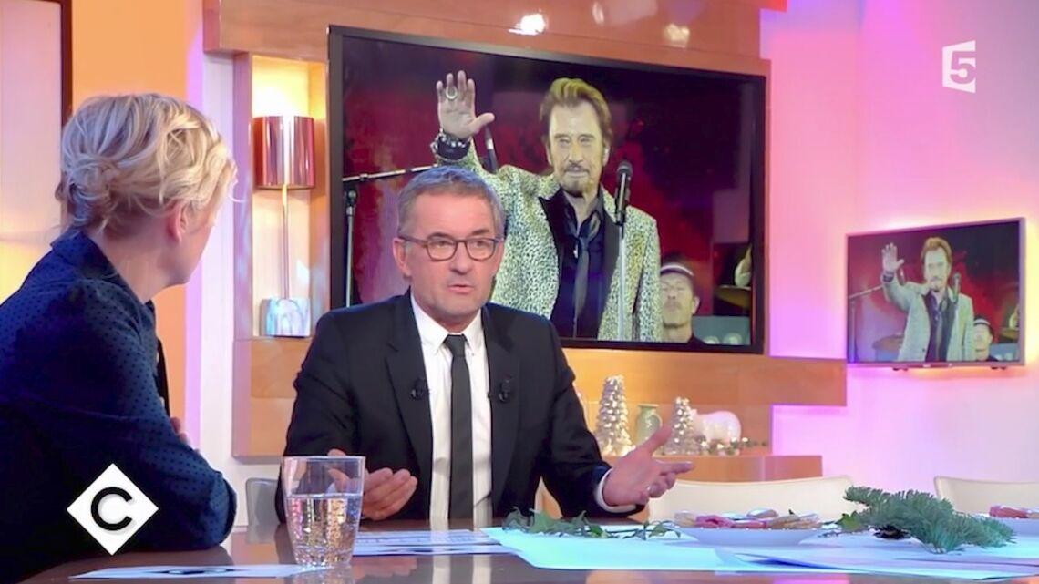VIDEO – Très ému, Christophe Dechavanne surpris de sa réaction après la mort de Johnny Hallyday