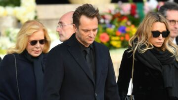 Quand David Hallyday se réjouissait de partager la scène avec ses parents Johnny et Sylvie, un moment rare