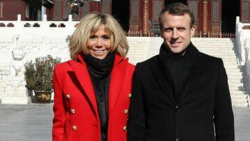 PHOTOS – Brigitte Macron en Chine, découvrez le prix de ses boots à la semelle rouge ultra chic