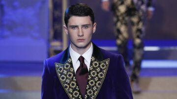 PHOTOS – Noé Elmaleh et Gabriel-Kane Lewis: les fils de stars font sensation au défilé Dolce & Gabbana
