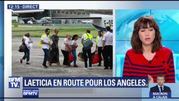 PHOTOS – Laeticia Hallyday et ses filles ont quitté St Barth: un moment chargé en émotion pour la femme du rockeur en larmes