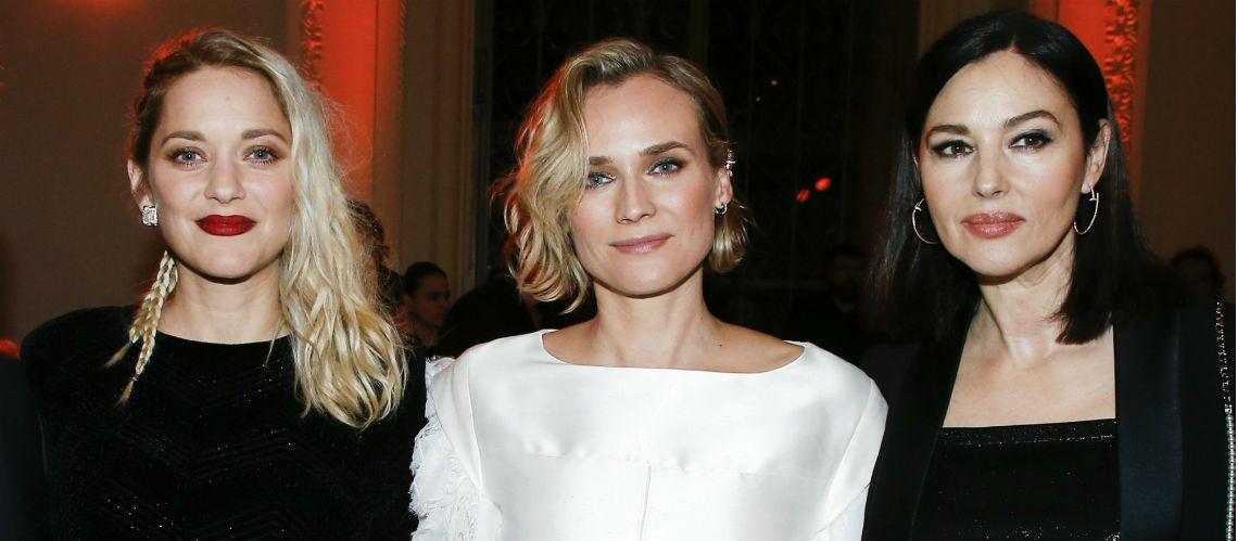 PHOTOS – Monica Bellucci, Marion Cotillard, Diane Kruger, les plus belles coiffures de la soirée Révélations des César
