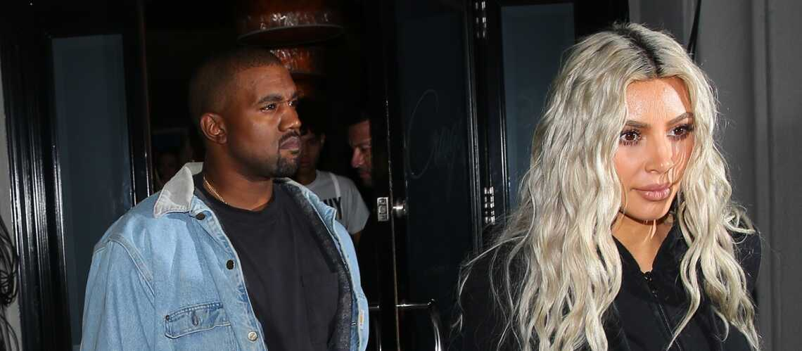 Kim Kardashian choisit la sobriété pour dévoiler le prénom de sa fille
