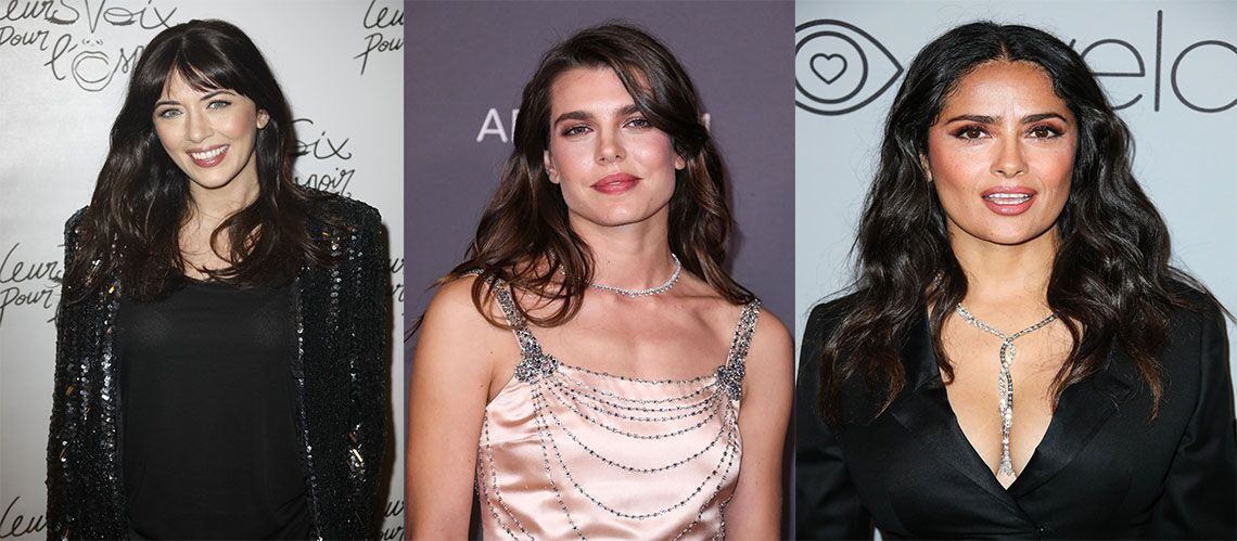 Coupe de cheveux – Nolwenn Leroy, Charlotte Casiraghi…Les plus belles coupes de stars aux cheveux bruns