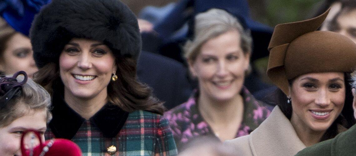 """Kate Middleton et Meghan Markle, déjà amies et très solidaires: la duchesse de Cambridge fera """"tout pour l'aider"""""""