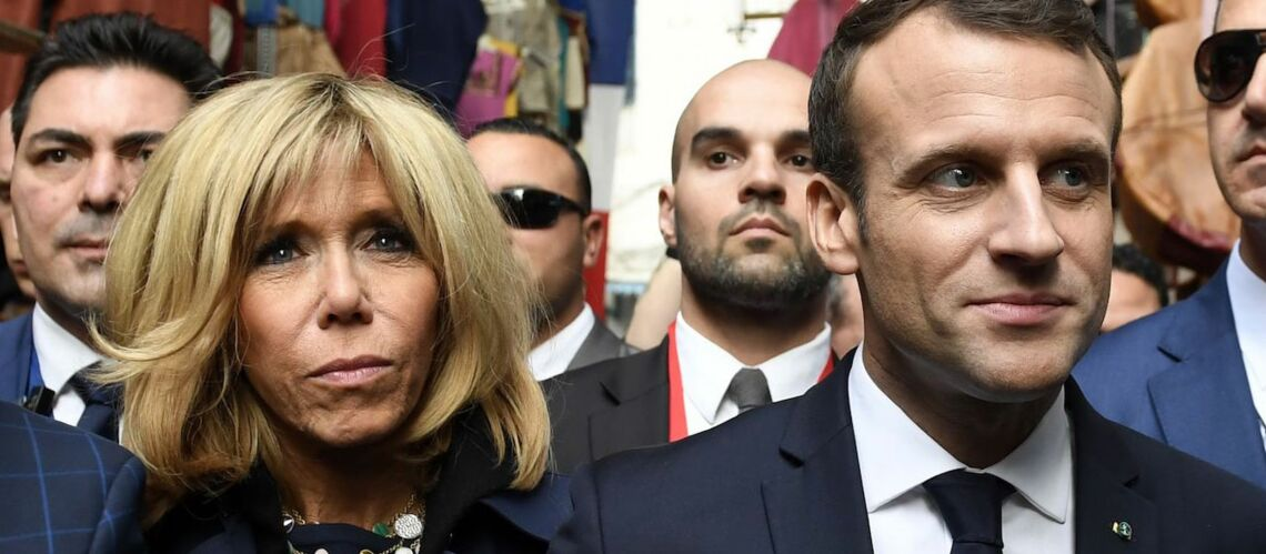 PHOTOS – Brigitte Macron : son mara­thon mode en Afrique