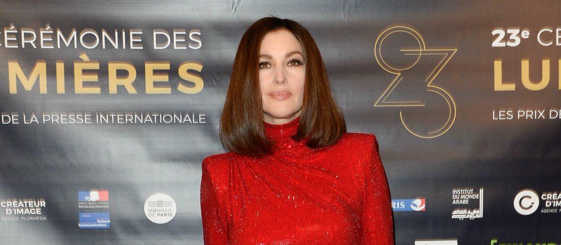 PHOTOS – Monica Bellucci sublime avec une nouvelle couleur de cheveux