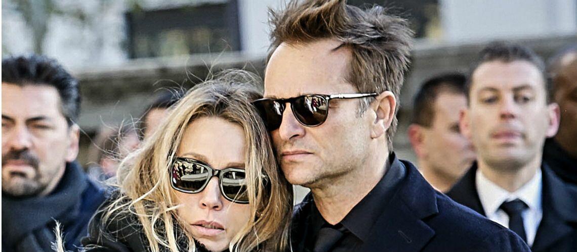 PHOTO – Laura Smet et David Hallyday, soudés dans la lutte pour la succession face au testament de Johnny