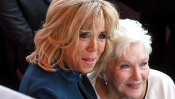 Brigitte Macron a rendu visite à Line Renaud affaiblie après la mort de Johnny Hallyday