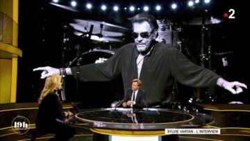 VIDEO – Sylvie Vartan a pu voir Johnny Hallyday quelques jours avant sa mort