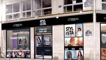 Pour la Fashion Week parisienne, L'Oréal Paris ouvre son salon de coiffure éphémère Stylista