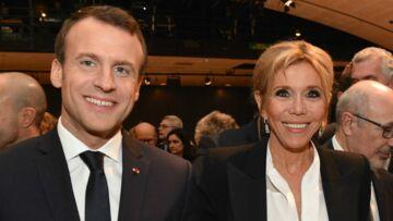PHOTOS – Brigitte Macron, radieuse et très élégante en tailleur noir lors du dîner du CRIF à Paris