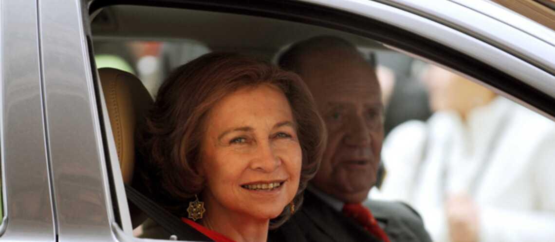 Sofia d'Espagne donne une leçon à la Queen