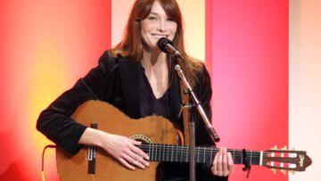 Carla Bruni: «J'ai fait un vrai disque de chanteuse»