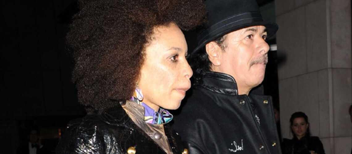 Carlos Santana, la corde au cou