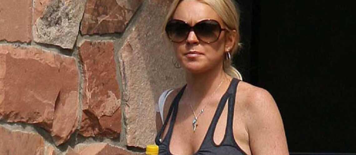 Lindsay Lohan, sa piqûre de Noël