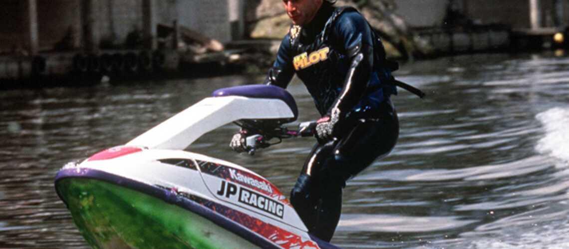 Lagaf a eu un accident de jet-ski