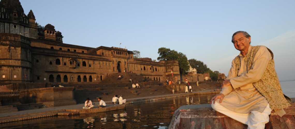 Retraite princière à Maheshwar, en Inde