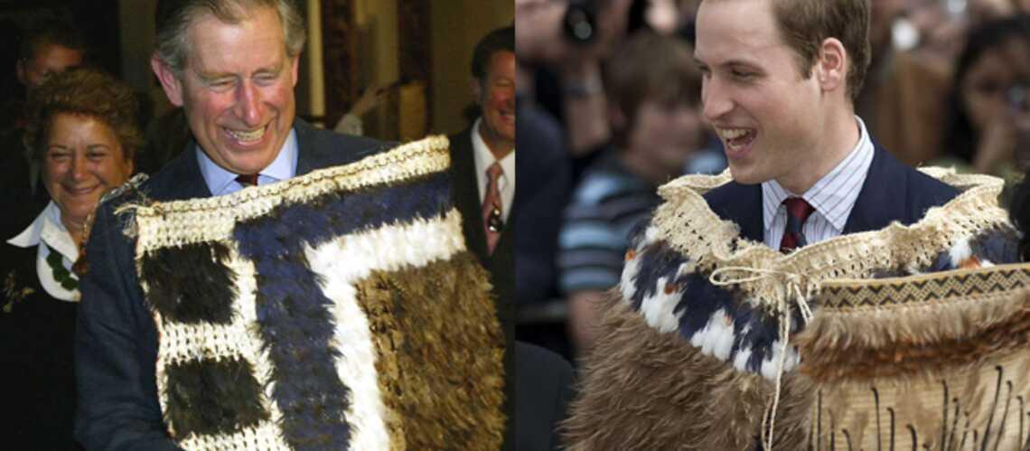 Le prince William: il fait tout comme papa