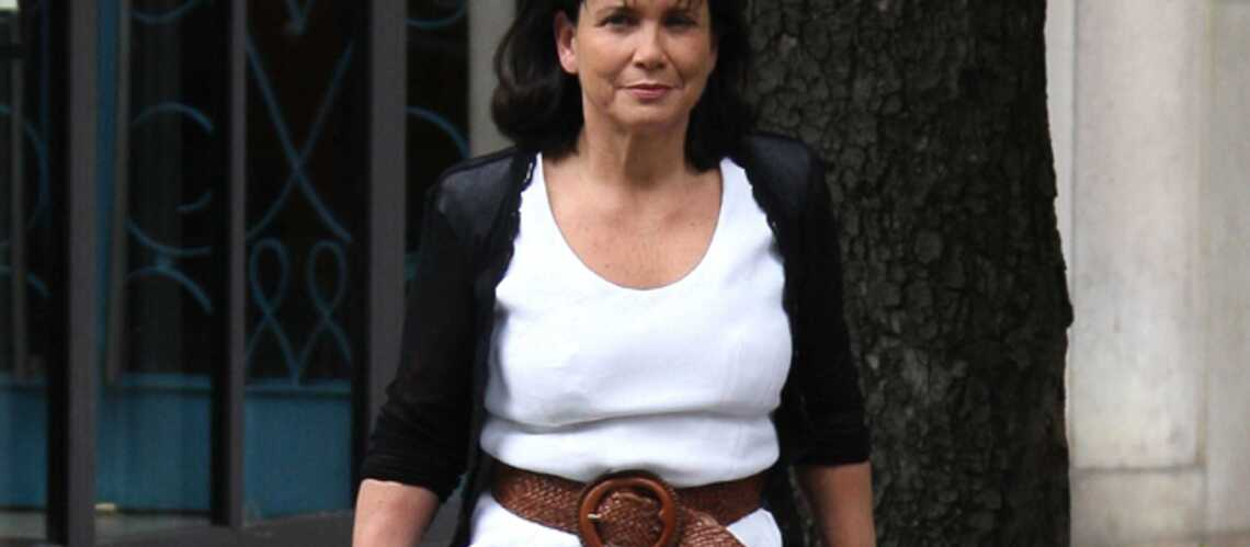 Anne Sinclair est grand-mère