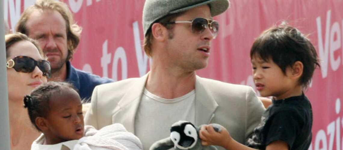Photos- Brad Pitt, Tom Cruise, Jay-Z… ces papas gâteaux célèbres