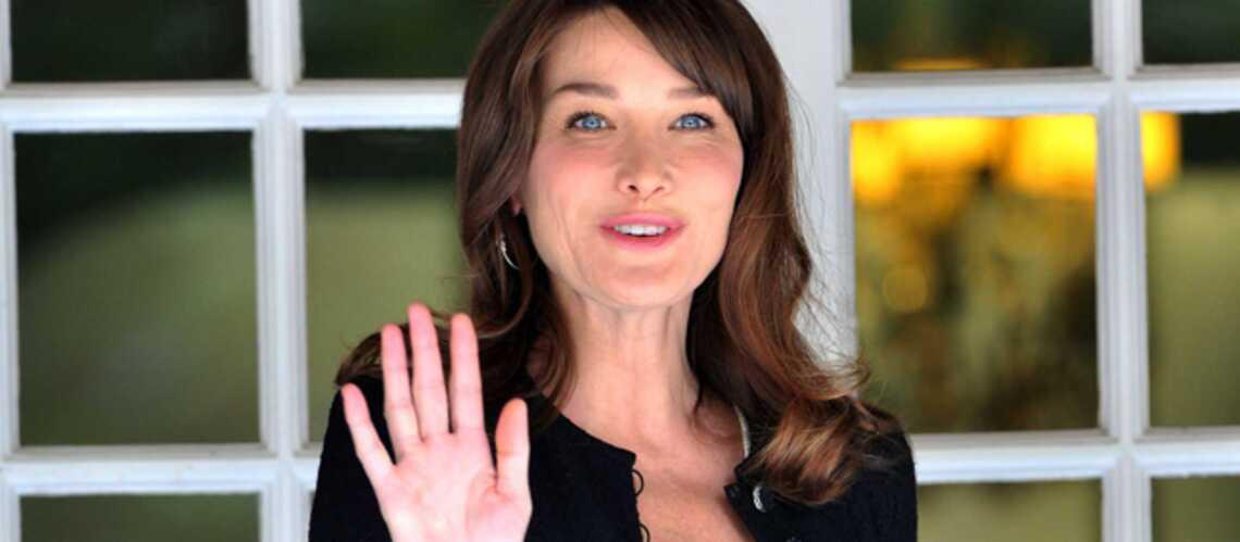 Carla Bruni-Sarkozy: quelqu'un m'a «Glee»