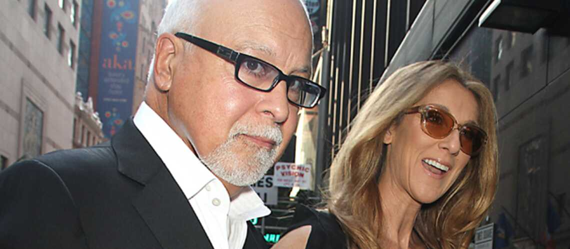 Céline Dion et René Ange­lil, couple star à New York