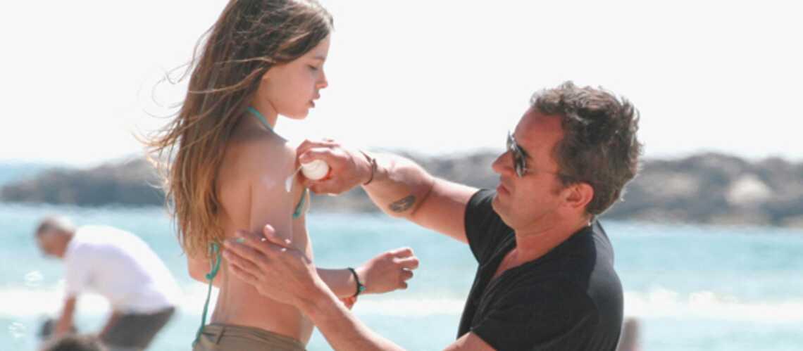 Christophe Dechavanne et Ninon: tel père, telle fille