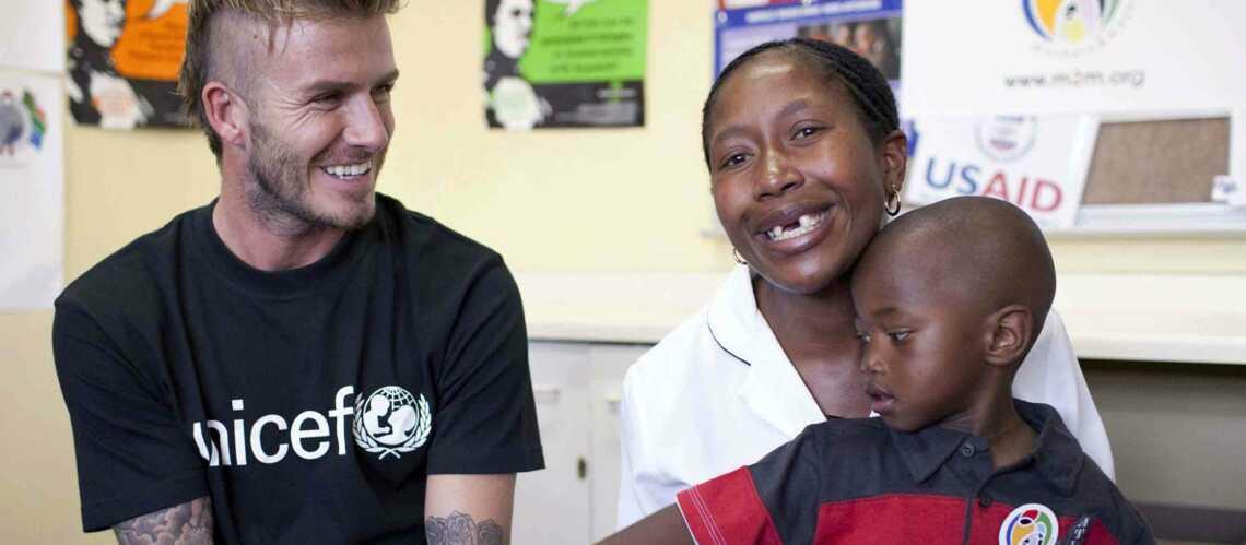 David Beckham, humain lui aussi!
