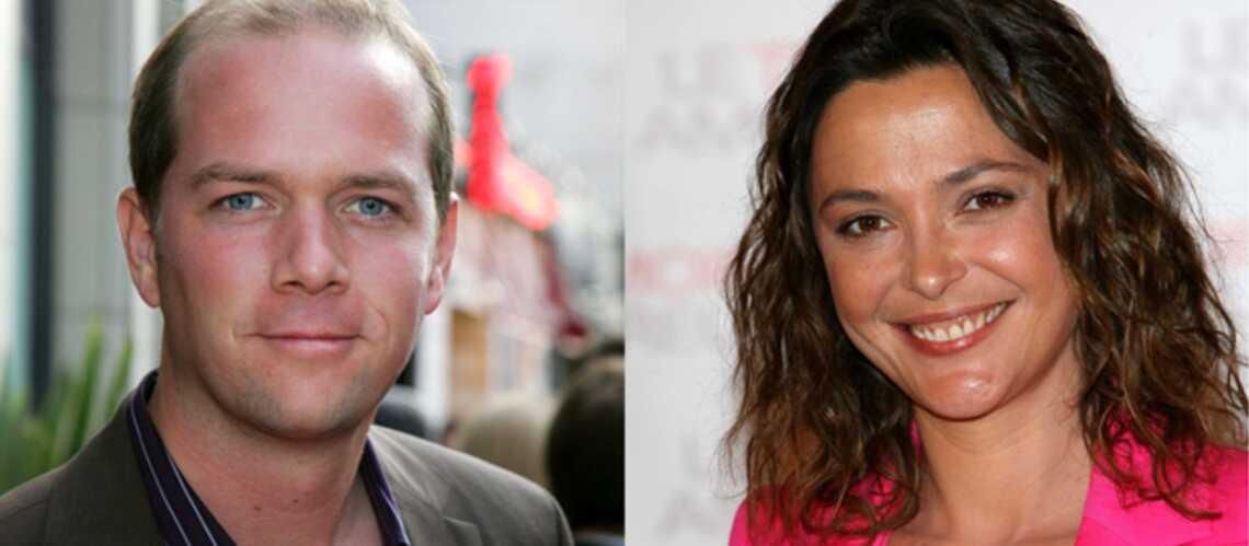 Sandrine Quétier et Julien Arnaud à la matinale de TF1