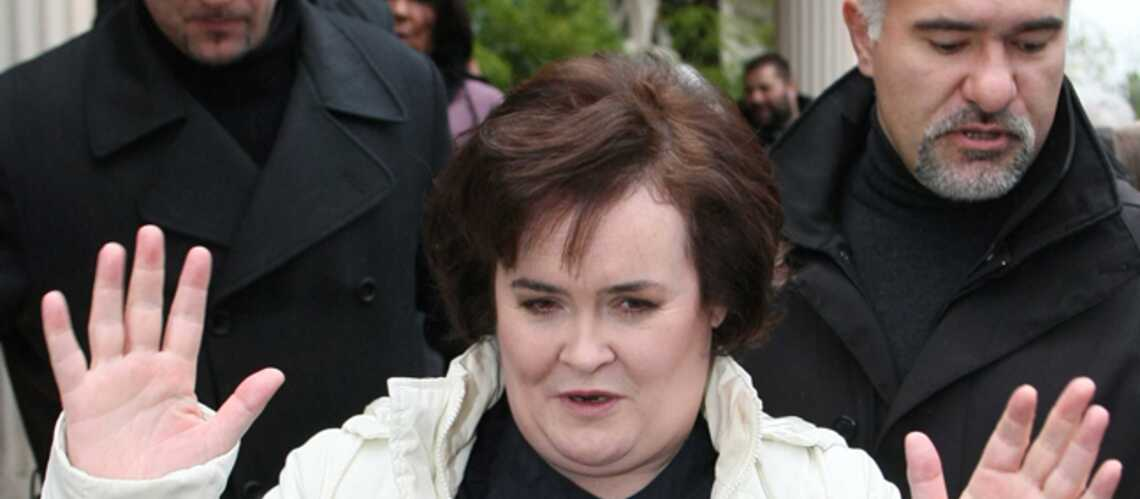 Susan Boyle: sous protection rapprochée