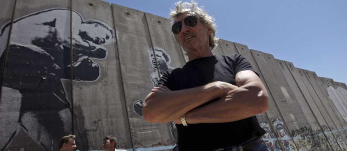 L'ancien bassiste des Pink Floyd veut faire tomber le mur de Cisjordanie